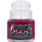 Candle Lite Candle, Juicy Black Cherries