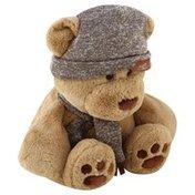 Animal Adventure Plush, Owlen Bear - Brown
