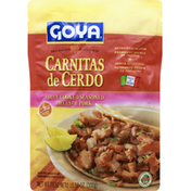 Goya Carnitas De Cerdo Fully Cooked Seasoned Pieces Of Pork