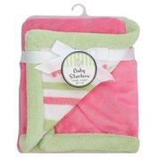 Baby Starters Blanket, Cuddly, Pink Stripe