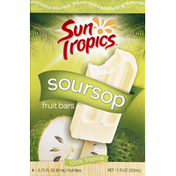 Sun Tropics Fruit Bars, Soursop