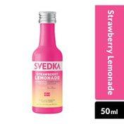 SVEDKA Strawberry Lemonade Flavored Vodka Mini Plastic Bottle