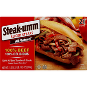 Steak-umm Steaks, Sliced