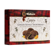 Walkers Shortbread Ginger Royals Chocolate Shortbread