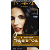 L'Oreal Superior Preference Fade-Defying Color + Shine System  1 Ultimate Black