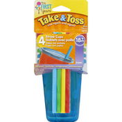The First Years Straw Cups, 10 Ounce, 18M+