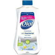 Dial Complete Antibacterial Foaming Hand Wash Refill, Soothing White Tea