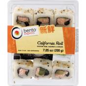 Bento Express California Roll, Tray