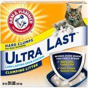 Arm & Hammer Clumping Litter Ultra Last