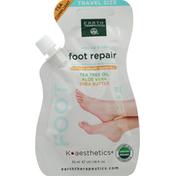 Earth Therapeutics Foot Repair, Tea Tree Oil, Aloe Vera, Shea Butter, Travel Size