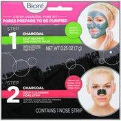 Bioré 2-Step Charcoal Pore Kit