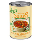 Amy's Kitchen Organic Soups Fat Free Chunky Vegetable