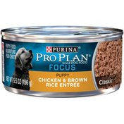 Purina Pro Plan Focus Chicken & Brown Rice Canned Puppy Food