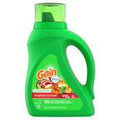 Gain Aroma Boost Liquid Laundry Detergent, Tropical Sunrise Scent