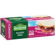 Springfield Sandwich Pleated Bags