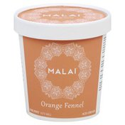 Malai Ice Cream, Orange Fennel