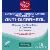 Harris Teeter Anti-Diarrheal, 2 mg, Caplets
