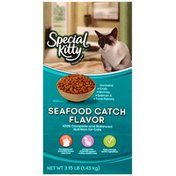 Special Kitty Seafood Catch Flavor Dry Cat Food