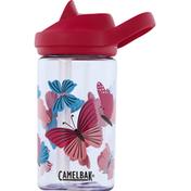 Camelbak Tumbler, Eddy + Kids, Colorblock Butterflies, 14 Ounce