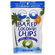 C2 O Coconut Chips, Baked, Sweet and Salty