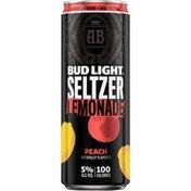 Bud Light Peach Lemonade Seltzer