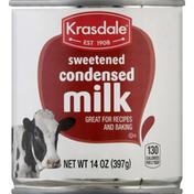 Krasdale Milk, Sweetened, Condensed