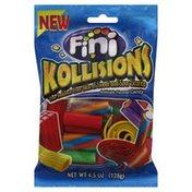 Fini Licorice, Kollision's