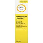 Signature Care Hemorrhoidal Ointment