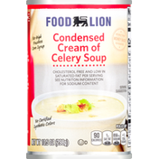 Food Lion Soup, Cream of Celery, Condensed