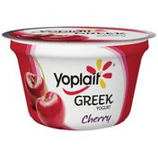 Yoplait Greek Blended Cherry Fat Free Yogurt