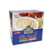 First Street Variety Instant Oatmeal