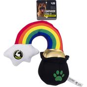 Companion Pot O' Gold Rainbow Dog Toy