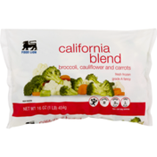 Food Lion California Blend, Broccoli, Cauliflower and Carrots, Bag