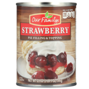 Our Family Strawberry Pie Filling & Topping