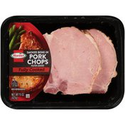 Hormel hick Cut Fully Cooked Bone-in Smoked Pork Chops