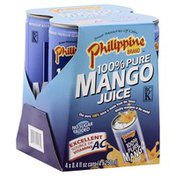 Philippine Brand 100% Juice, Pure Mango