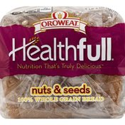 Brownberry/Arnold/Oroweat Bread, 100% Whole Grain, Nuts & Seeds
