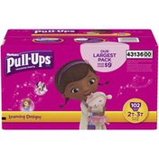 Pull-Ups Learning Designs 2T-3T Girls Training Pants