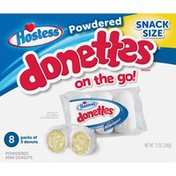 Hostess Powdered Donettes Donuts Snack Size