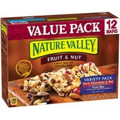 Nature Valley Fruit & Nut Trail Mix Dark Chocolate & Nut/Trail Mix Variety Pack Chewy Granola Bars