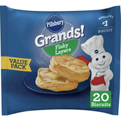 Pillsbury Grands! Biscuits Value Pack, 20 Count