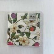 Paperproducts Design Magnolias Beverage Napkin