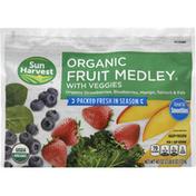 Sun Harvest Fruit Medley, Organic, with Veggies