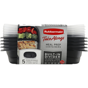 Rubbermaid Containers, Meal Prep