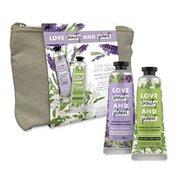 Love Beauty and Planet Mother'S Day Hand Cream Gift Set Argan Oil Lavender & Coconut Milk White Jasmine