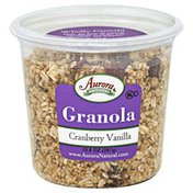 Aurora Natural Granola, Cranberry Vanilla