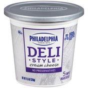 Kraft Philadelphia Deli Style Cream Cheese