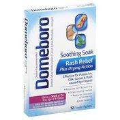 Domeboro Rash Relief, Powder Packets