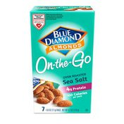 Blue Diamond On-The-Go Almonds, Dry Roast Sea Salt