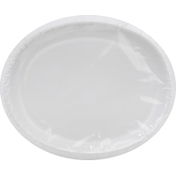First Street Plates, White, Oval
